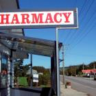 Locals fear for the future of the Owaka Pharmacy. Photo by Helena de Reus.