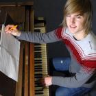 Logan Park High School pupil Finn Butler (17) continues to pen compositions after winning the...