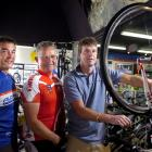 Looking forward with nervous anticipation to their fundraising cycle the length of New Zealand...