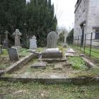 Lord Ranfurly's dilapidated grave in Lansdown Cemetery, Bath, in February 2009. Photo by Peter...