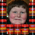 Luke Bain, of Dunedin, has no need to worry about his Marmite supply after many people came to...