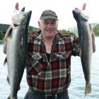 Lyall Nash, of Roseneath, says his collective 8kg catch within half-an-hour yesterday signals the...