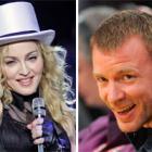 Madonna, 50, divorced Guy Ritchie, ten years her junior, in 2008. Photos by AP.