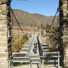 Maintenance work will start on the historic Shaky Bridge over the Manuherikia River at Alexandra...