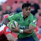 Malakai Fekitoa is back in the Highlanders' starting line-up for the playoff match against the...