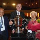 Mangere growers Joe and Fay Gock  were presented with Horticulture New Zealand's Bledisloe Cup ...