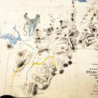 """John Turnbull Thomson's """"Map of reconnaissance Survey of the Interior Districts of Otago Province..."""