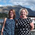 Marketing manager Katy Medlock (left) and director Lisa Buckingham. Photo by Olivia Caldwell.