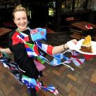 Mash Cafe owner Erin van Duyl is prepared for an influx of customers for Rugby World Cup 2011 in...