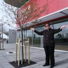 Mataura Taskforce chairwoman Laurel Turnbull is shown celebrating the news that Solid Energy and...