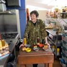 Matilda Scarfe loves talking about the condiments made on her African-inspired property. Photos:...