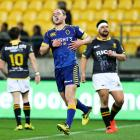Matt Faddes put in a strong showing at centre for Otago against Wellington. Photo Getty