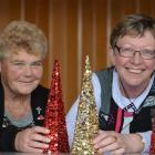 Maureen  McKay (left) and Joy Davies  are preparing for East Taieri Church's fifth  Christmas day...