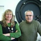 Mauri Ora worker Donna Grace and Uruuruwhenua Health manager Ricky Carr in their office in...