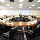 Mayor Peter Chin addresses the final meeting of the previous Dunedin City Council. Photo by Craig...