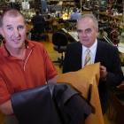 McKinlay's Footwear director Graeme McKinlay and Otago Southland Employers Association chief...