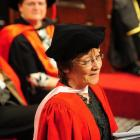 Poet Cilla McQueen reflects on the challenges facing University of Otago graduates. Photo by...