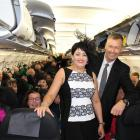 Melbourne Cup trip organisers Tony and Tracey Laker, of House of Travel Lakers, with their...