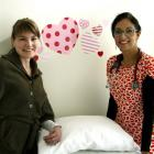 Midwife Charlotte Aarden (left) and Dr Pragati Gautama have teamed up to offer combined GP and...