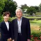 Millbrook founder Eiichi Ishii and wife Hiroko. Photo by David Williams.