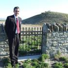 Moa Creek Cemetery Trust chairman Jeff Sawers, of Alexandra, at the cemetery, which reopened for...