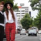 Model twins Nellie (left) and Elza Jenkins, of AliMcD Agency, are moving from Dunedin to London...