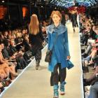 Models parade on the Dunedin Railway Station platform catwalk at last year's iD Dunedin Fashion...