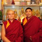 Venerable Geshe Nyima Dorjee (44, right) arrived in Dunedin last night to take up the role of...