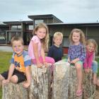 Mosgiel Central Kindergarten pupils (from left) Kash Michelle, Aalli Popata, Eli Pomeroy-Corfield...