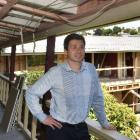 Motel owners Adrienne and Chris Roy, in Dunedin's former Cargills Hotel, which is being...