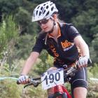 Mount Aspiring College pupil Phoebe Young has had success in both triathlon and mountain biking...