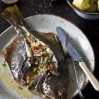 Mrs Walsh's stuffed baked flounder. Photos supplied.