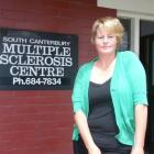 Multiple sclerosis sufferer Jo Tatnell, of Timaru, is selling raffle tickets to raise money for...