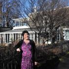 Museum collections, research and experience director Clare Wilson outside the almost-completed...