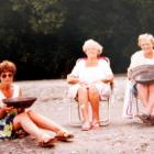 My mother, Rosemary Roxburgh, left, with my late aunt Helen Clarke and grandmother Susan Roxburgh...