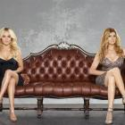 Nashville characters (from left) Juliette Barnes (played by Hayden Panettiere) and Rayna Jaymes ...