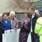 North Rd residents Kathleen Kerr, Jean Law and Nancy Wright share a joke with Neighbourhood...