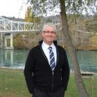 New Central Otago District Council chief executive Phil Melhopt near the Clutha River, outside...