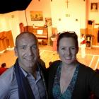 New Fortune Theatre general manager Nicholas McBryde and artistic director Lara Macgregor at a...