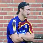 New Highlanders captain Jimmy Cowan at training yesterday. Photo by Craig Baxter.