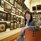 New Otago Settlers Museum director Linda Wigley in the museum's portrait gallery. Photo by Gerard...