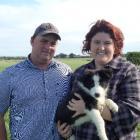 New Zealand Dairy Industry Award (NZDIA) Southland judges  Amy and Graeme Johnston, of Underwood,...