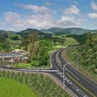 New Zealand Transport Agency project manager Simon Underwood said the image was indicative only,...