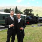Newlyweds Martin Kohn and Shawn Finlay, formerly of Sydney, are the first gay couple to be...