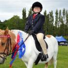 Nicole Reid (7), of Portobello, and her pony Flicker  enjoyed success at the Otago Peninsula...