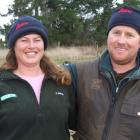 North Otago couple Tracy Finch and Aaron Hawkins are the winners of the South Island dairy heifer...