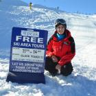NZSki Coronet Peak host Luke Evans says he enjoys meeting a variety of people in his job. Photo...