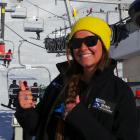 NZSki lift operator Brooke Steinkopf (22), of the United States. Photo supplied.