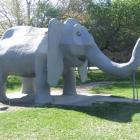 Oamaru's elephant slide.