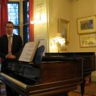 Olveston manager Jeremy Smith stands in the drawing room of the popular visitor attraction, where...